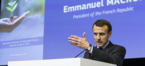 Discours du Président français à la Commission européenne, lors de la remise du rapport sur la finance durable du HLEG.