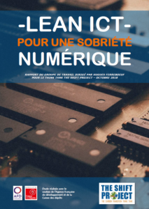 """Téléchargez le rapport """"Pour une sobriété numérique"""""""