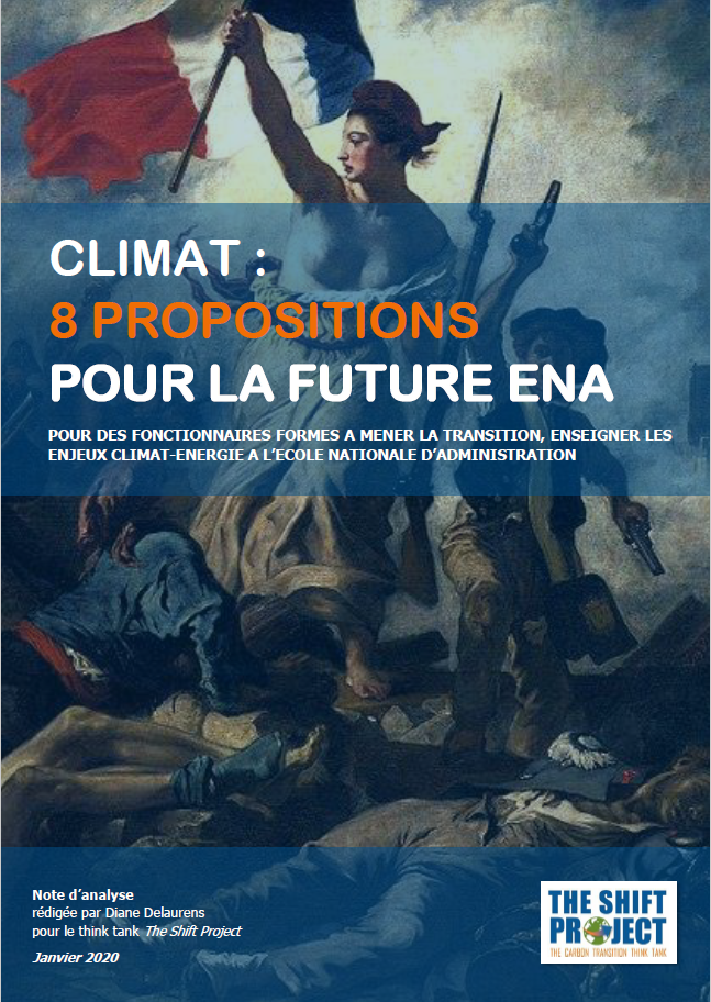 Climat : 8 propositions pour la future ENA