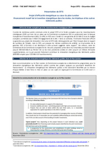 A 420bn€ European investment program for the 14/10/14 ECOFIN council