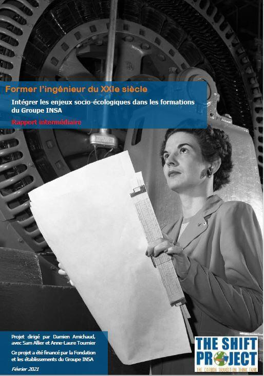 affiche et lien vers le rapport Former l'ingénieur du XXIe siècle